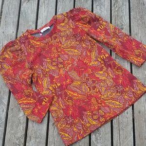 Savida Vintage look blouse NWT